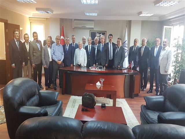 Odamız Yönetimi ile Yeminli Odaları Yönetim Kurulu Üyeleri Ankara Toplantısından